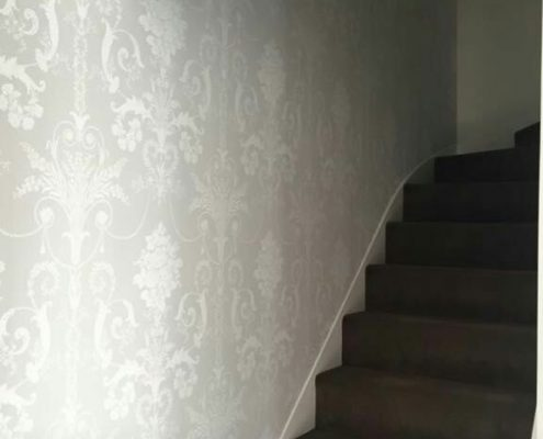 Stair Case patterned Wall