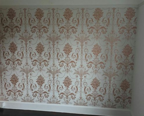 Modern Pattern Feature Wall